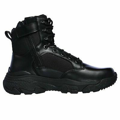 Skechers Men's 77533 Bovill Military Tactical Work Boots