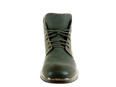 Men's Aldo Tall Gray Military Combat Army Ankle Dress Boots