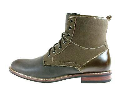 Tall Combat Army Ankle Boots