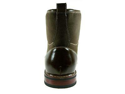 Men's Tall Brown Combat Army Dress Boots
