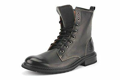 Polar Fox Men's 808563A Lace Up Calf High Military Style Fas