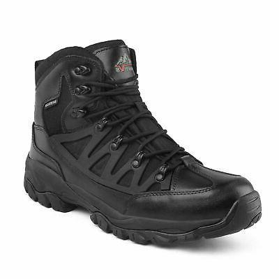 NORTIV 8 Mens Mid Waterproof Winter Warm Outdoor Hiking Boot