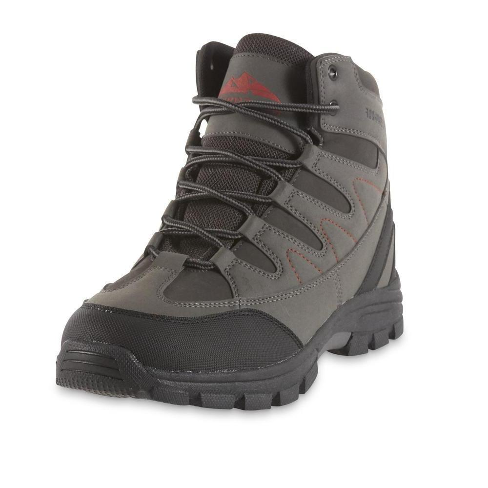 Northwest Territory Men's Baden Gray Hiking Boot waterproof
