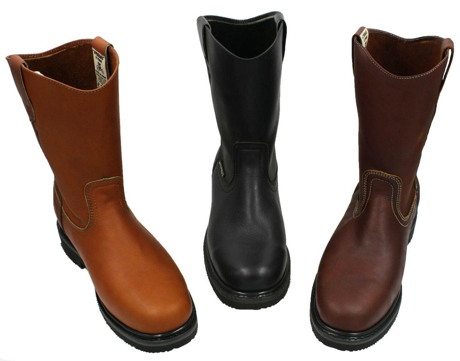men s best work boots pull on