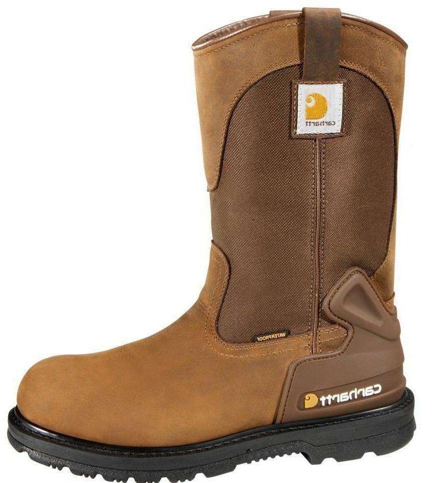 men s bison 11 waterproof steel toe