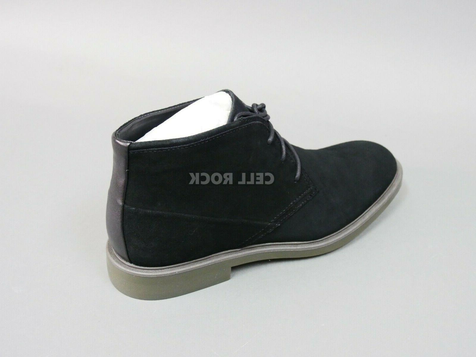 Calvin Men's BLACK SUEDE BOOTS Boot Shoes Size 10.5 ULysses