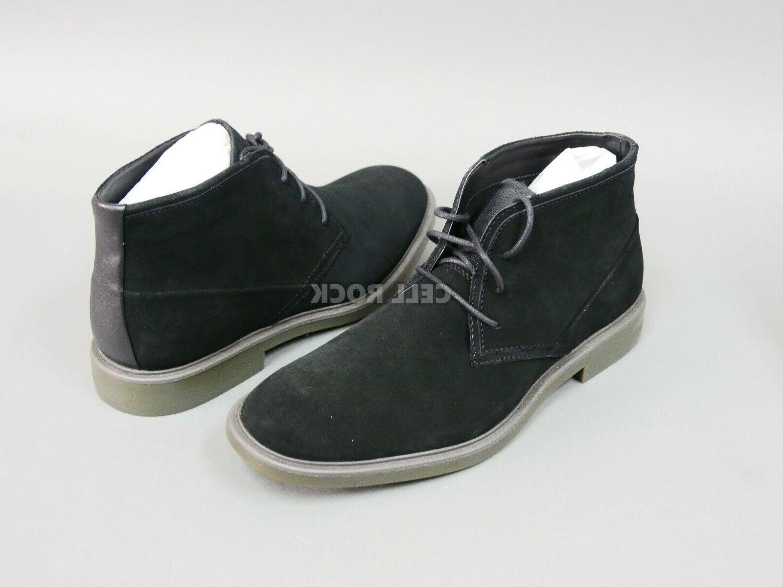 men s black suede boots chukka boot