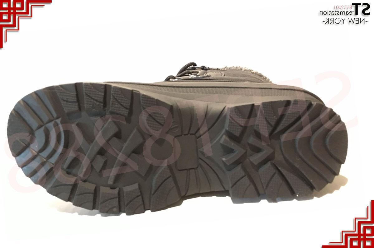 Men's Black Snow Boots Thermolite 2006