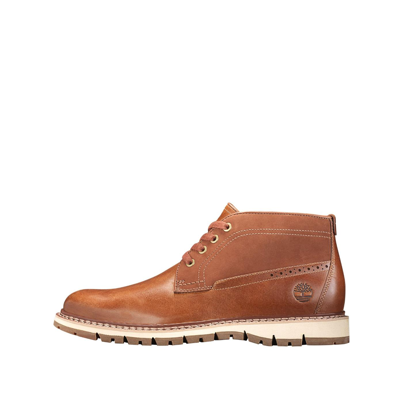Timberland Men's Britton Hill Chukka Boots Sensor Flex Brown