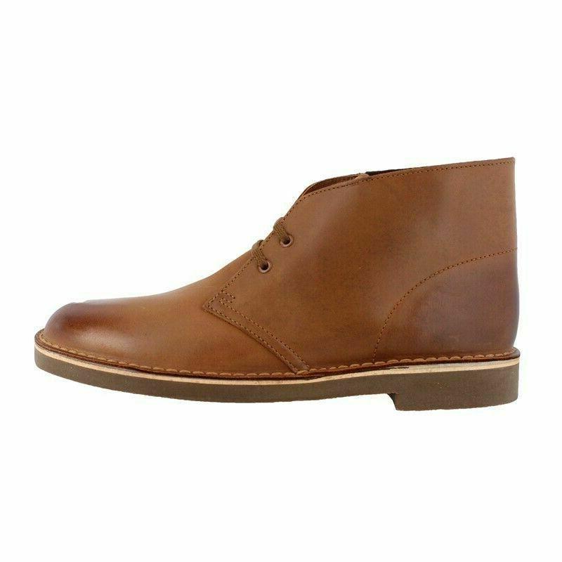 Clarks Chukka Boot 10.5 Dark Tan Leather