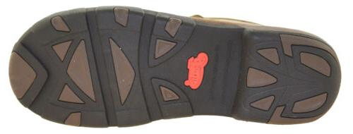 Justin Men's Dark Brown Toe Boots Style