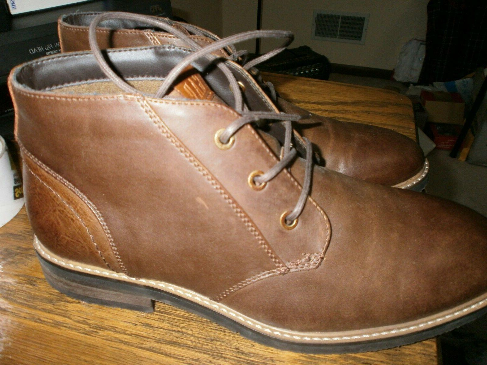 Gap Men's Chukka Boots Size 9 Brown NWOB New Rubber Sole Man