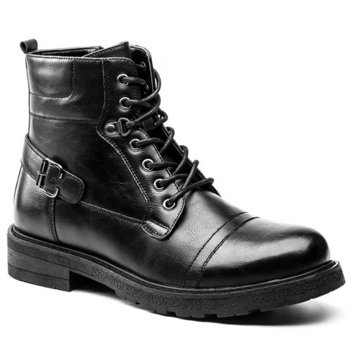 GOLAIMAN Men's Combat Boots Casual Motorcycle Army Work Dres