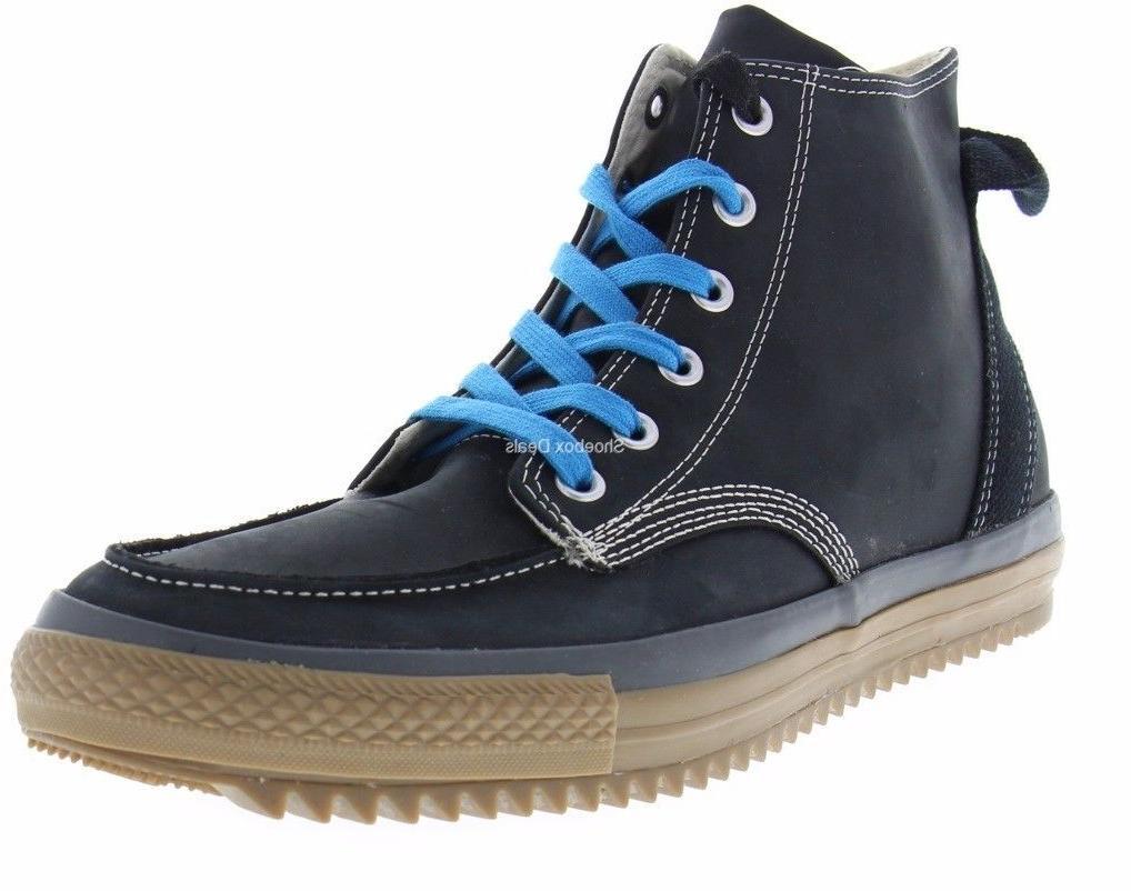 c230a8c6274 Converse Men s CT Chuck Taylor Hi Classic Black Leather Sawt