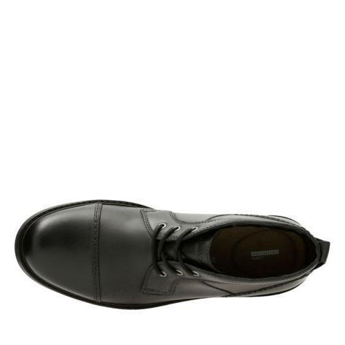 Clarks Black Leather 26129348