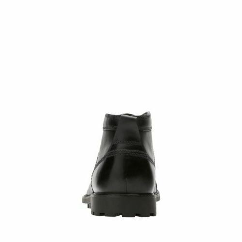 Clarks Men's Black Leather Boot 26129348