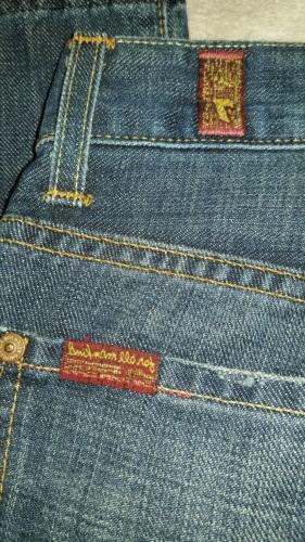 men's 7 for mankind denim jeans. boot cut. 29.