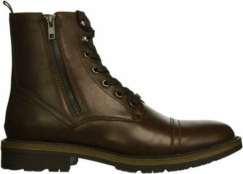 Unlisted Kenneth Cole Men's Boot, Brown Waxy,
