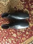 Men's Rockport  Dress Boots Size 9 1/2 Mens Black Leather Zi