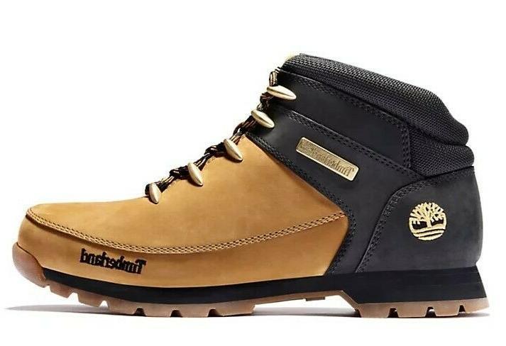 Timberland Men's Leather Hiker Black A1NHJ