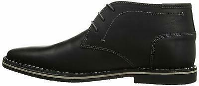 men s harken chukka boot black leather