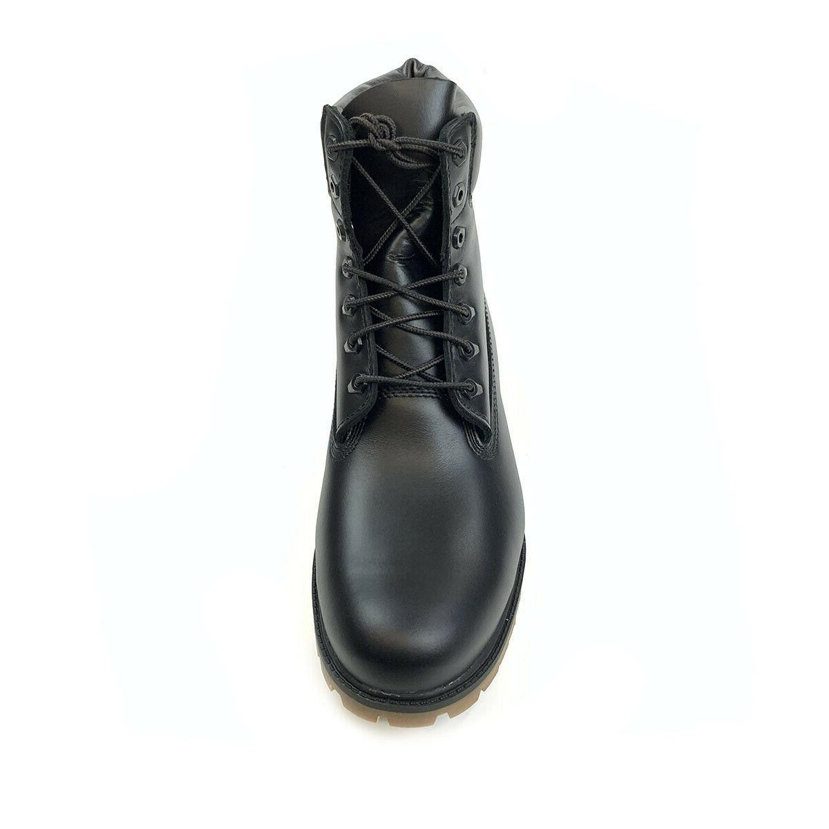 "Timberland Men's 6"" Waterproof Black Grain"