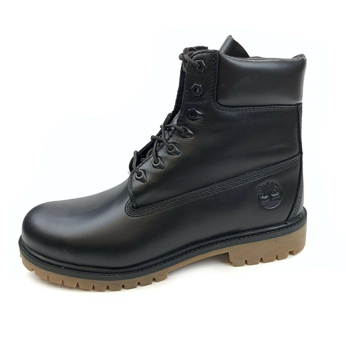men s heritage premium 6 waterproof black