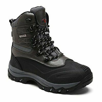 NORTIV 8 Men's Ankle Insulated Waterproof Winter Outdoor Hik