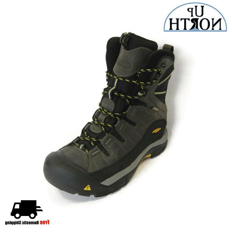 Keen Men's Insulated Winter Boots Summit County  Dark Shadow