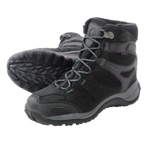 Merrell Men's Kiandra Boots Insulated winter snow boot Black