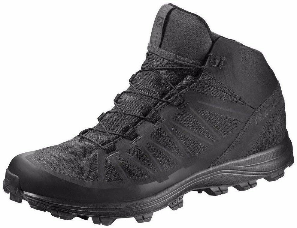 Salomon Men's L39472400 Speed Assault Black Trekking Hiking