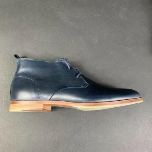 Calvin Laceup Plain Shoes Leather Size
