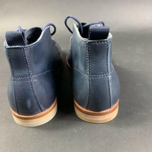 Calvin Men's Plain Ankle Shoes Navy Size 7