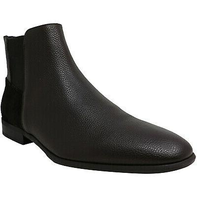 men s larry tumbled leather calf suede