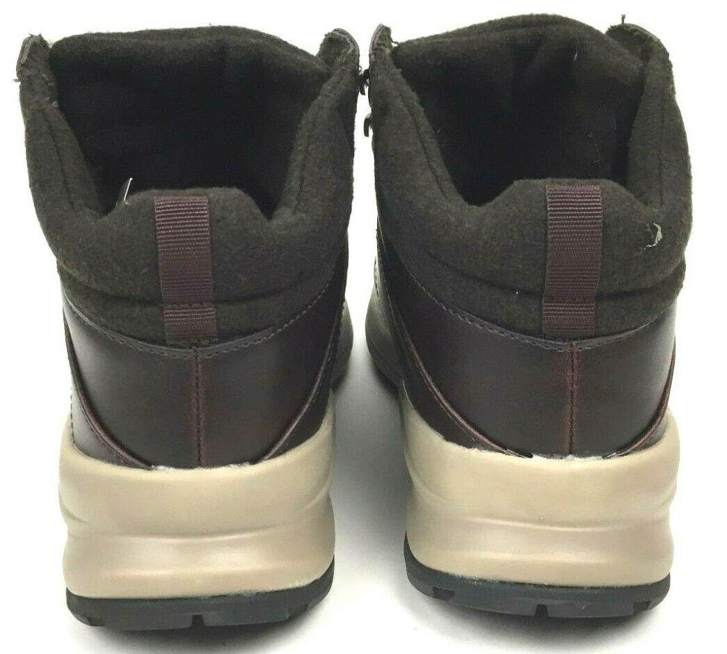 Khombu Leather Foam Lightweight Hiker Brown NEW