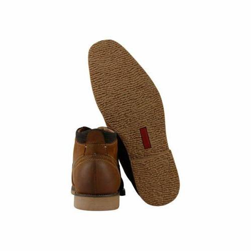 Steve Cap-Toe Boots, Tan,