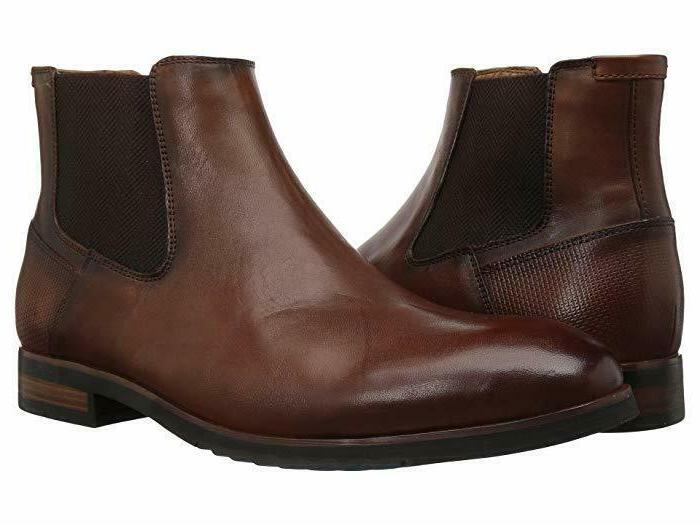 men s leston leather chelsea boots