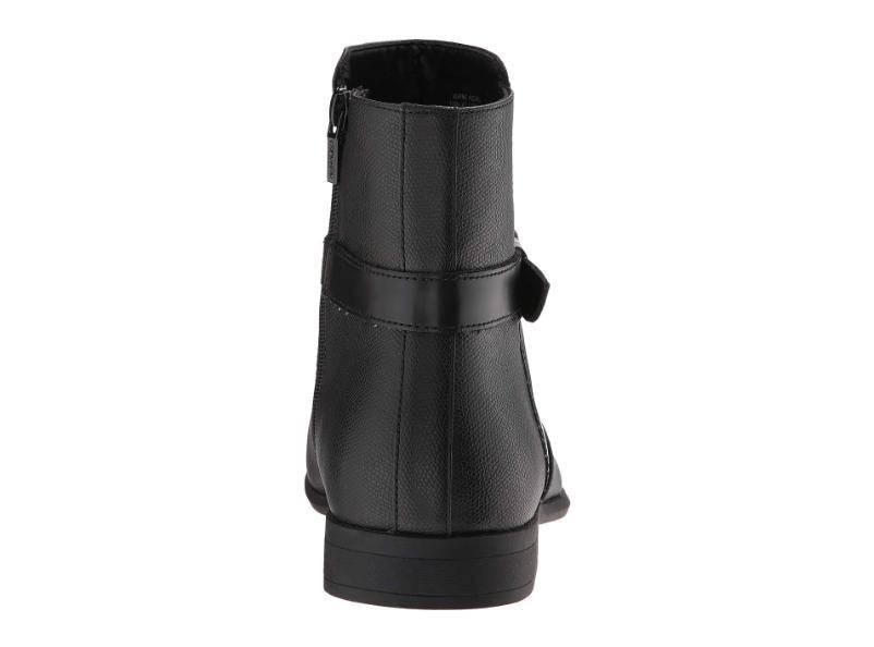Calvin Klein Lincoln boots Black 9 EU 42 Side Zipper
