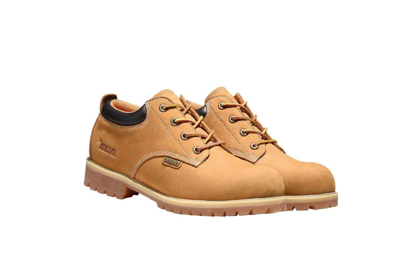 Men's Cut Boots Short Genuine Water Resistant Heavy 8651