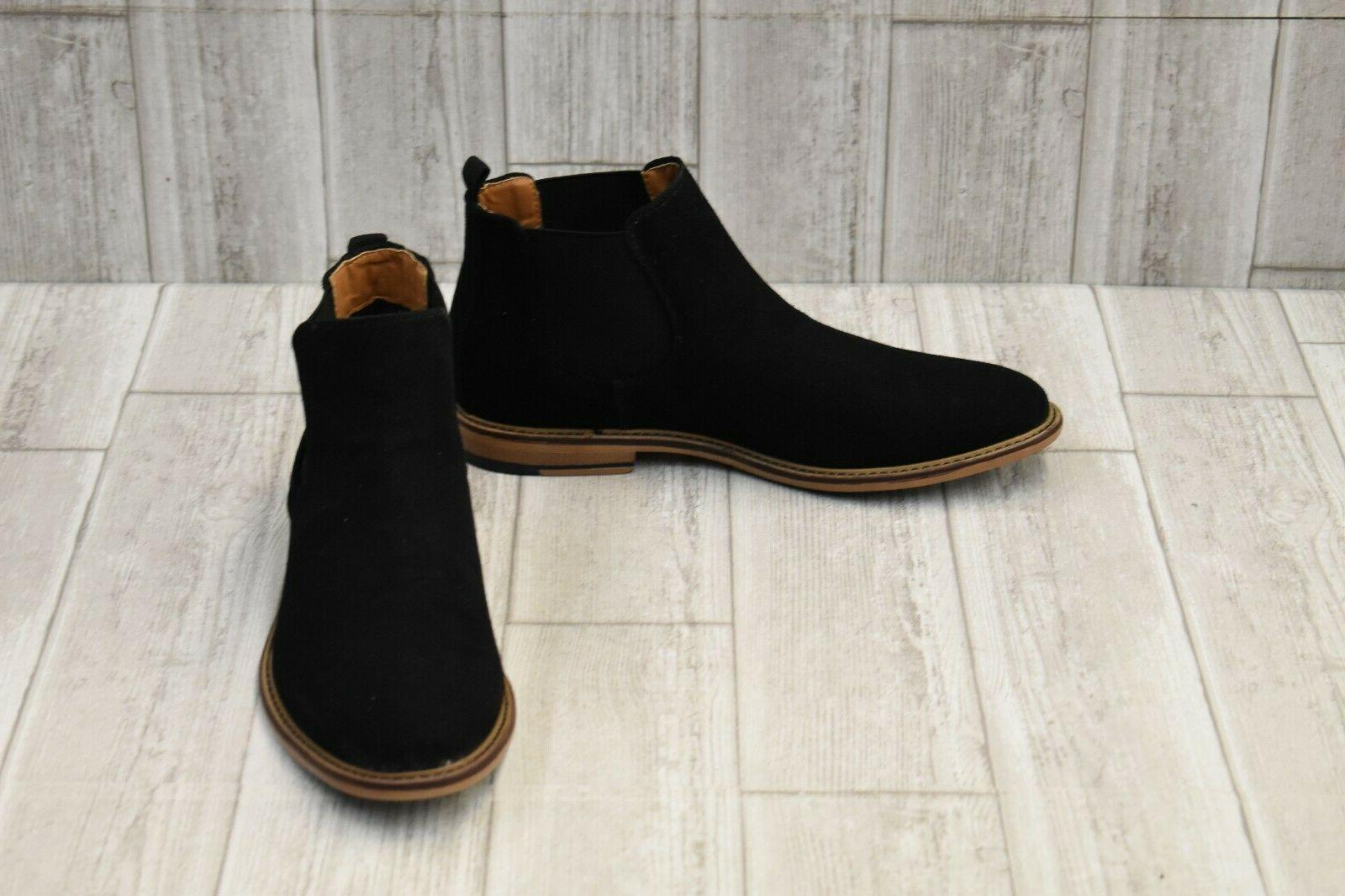 men s m graye chelsea boot size