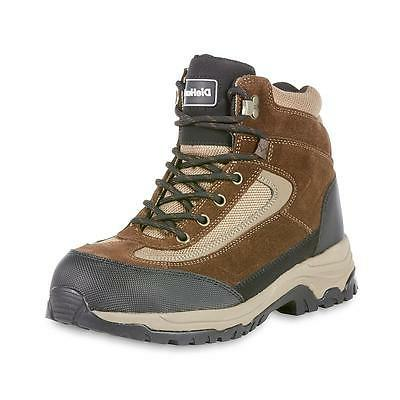 DieHard Men's Mars Brown Steel Toe Work Boot Wide Oil and sl