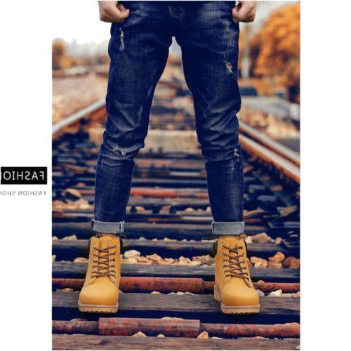 Men's Waterproof Leather up 10