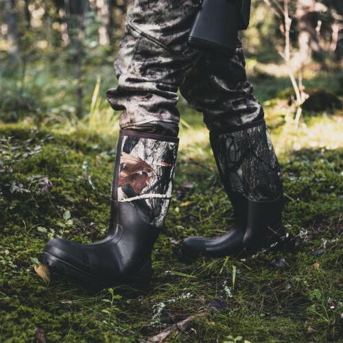 HISEA Men's Muck Boots Rubber Breathable Hunting