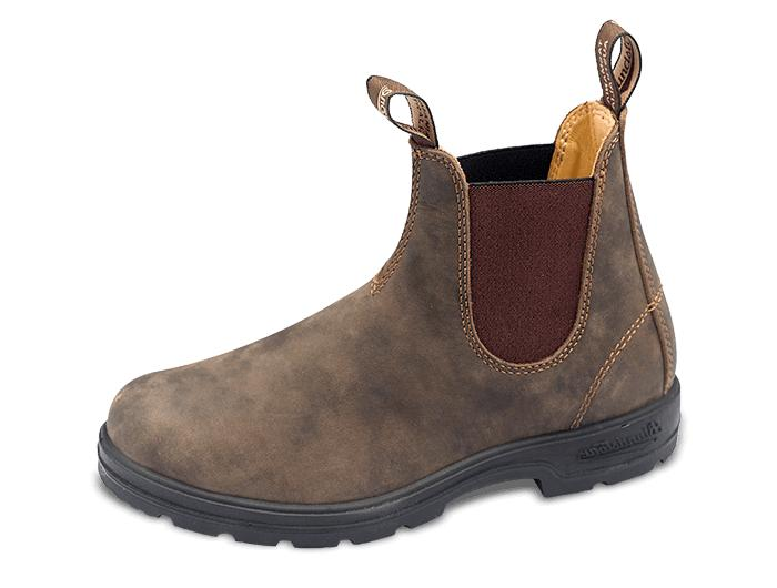 Men's Blundstone Original 585 Pull-On Leather Chelsea Boots
