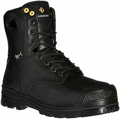 Terra Men's Paladin Industrial Construction Shoe, Black, 5.5