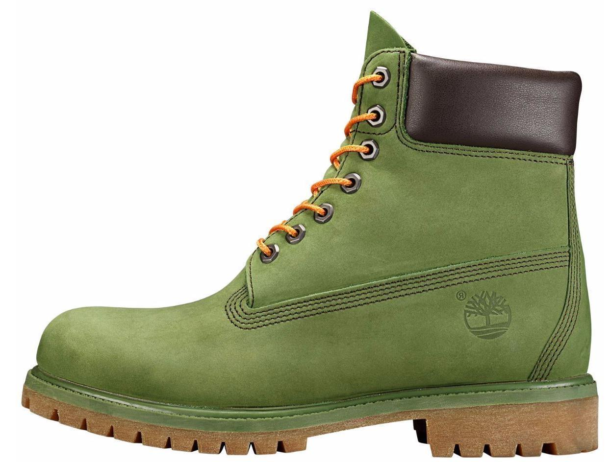 Timberland Men's Premium 6 inch Olive Green A1M72