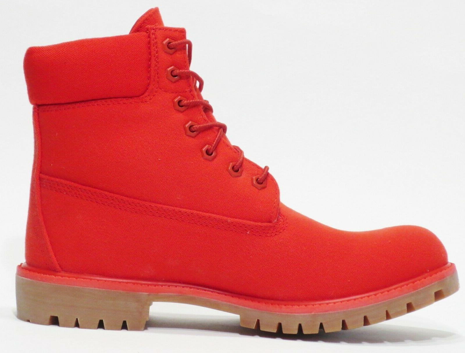 Timberland 6 inch Red