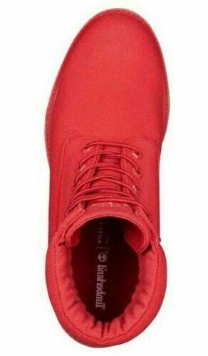 Timberland Men's Premium 6 Canvas Red Style A1UA5
