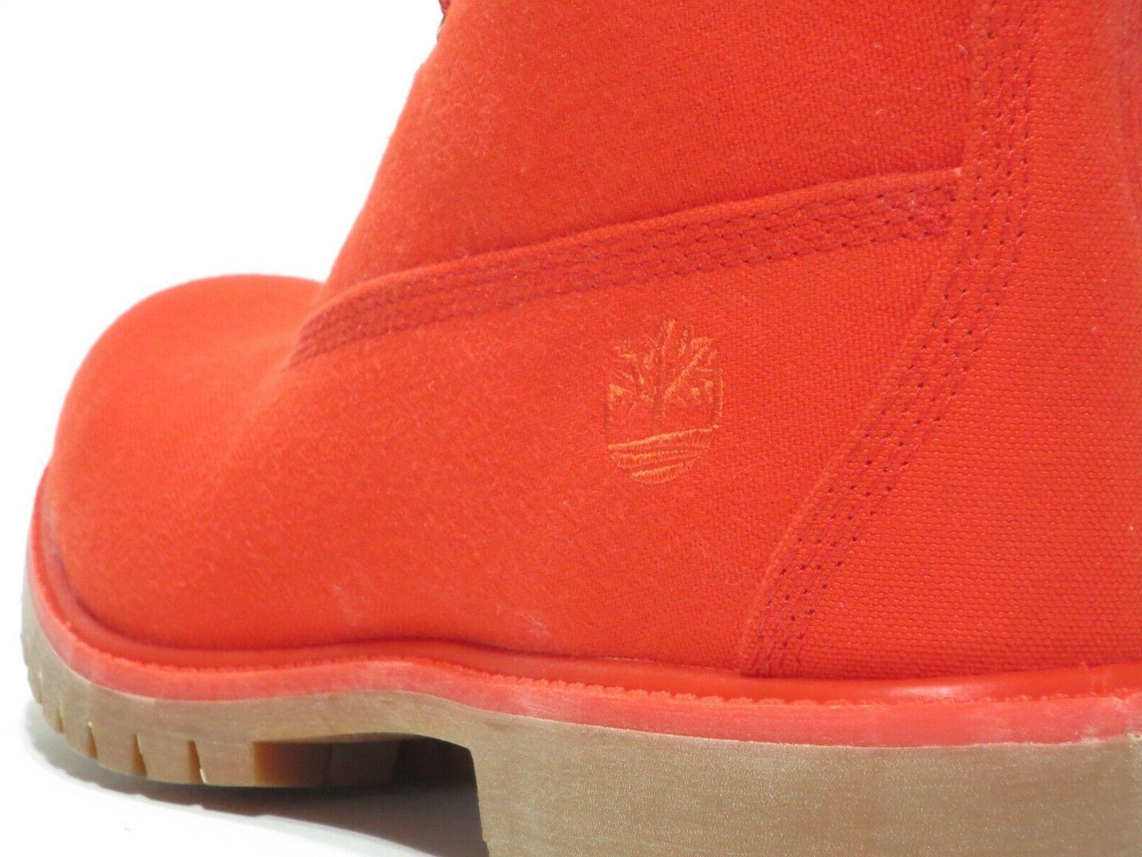 Timberland Men's Premium Red Boots Style