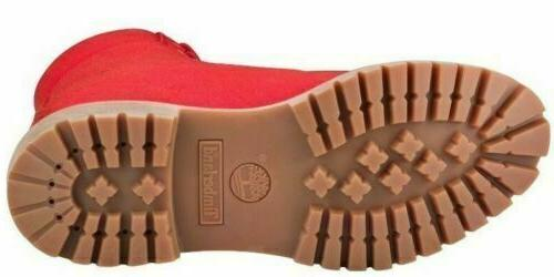 Timberland Men's 6 inch Red Boots A1UA5